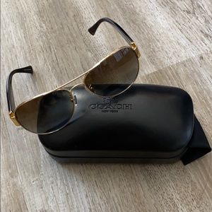 Coach Sunglasses and Case